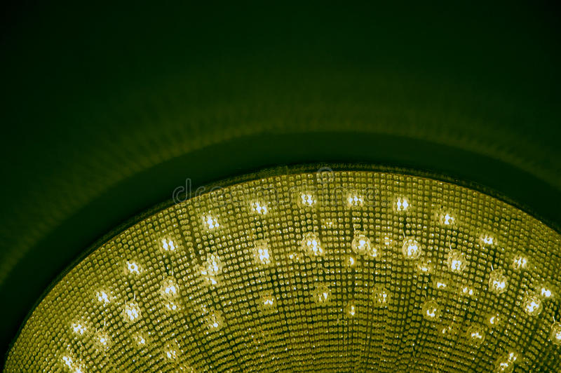 Detail of interiors Chandelier on ceiling royalty free stock photo