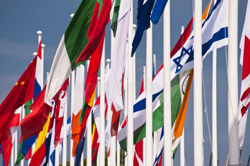 Download Flags stock photo. Image of united, flagstaffs, national - 29852320