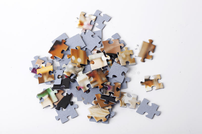 Download Puzzle stock photo. Image of details, objects, mixed - 30109338