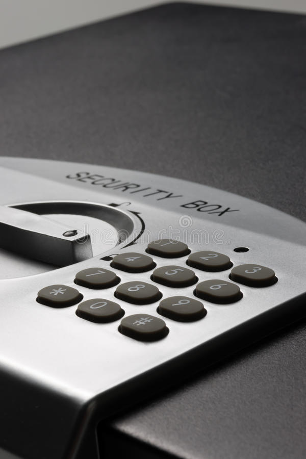 Download Detail Of A Laptop Safe (portrait) Stock Photo - Image: 21544228