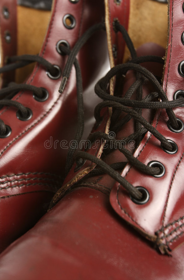 Download Detail of leather boot stock image. Image of rough, hiking - 514431