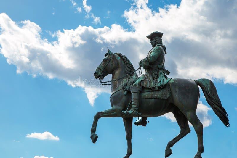 Detail of Maria Theresa monument in Maria-Thesienplatz, Vienna, Austria royalty free stock photography