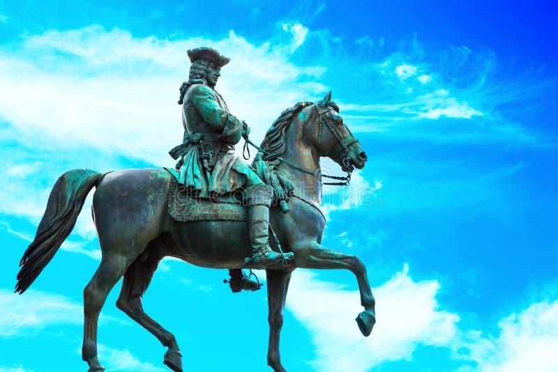 Detail of Maria Theresa monument, Vienna, Austria royalty free stock photo