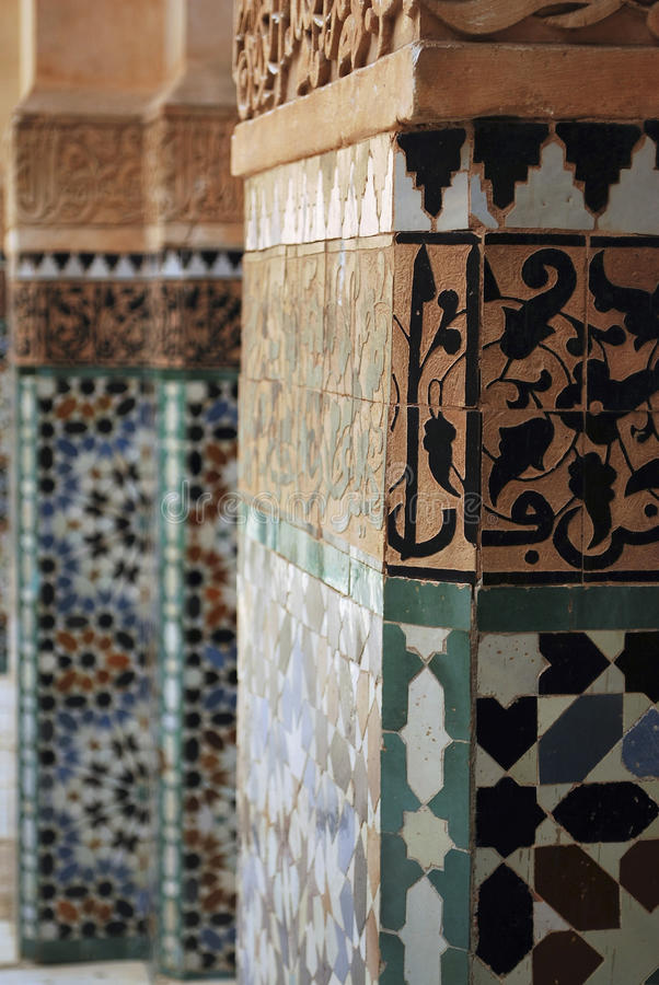 Detail in Marrakech royalty free stock images