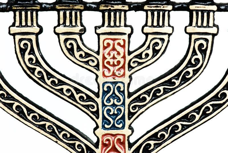 Detail Of Menorah Royalty Free Stock Images
