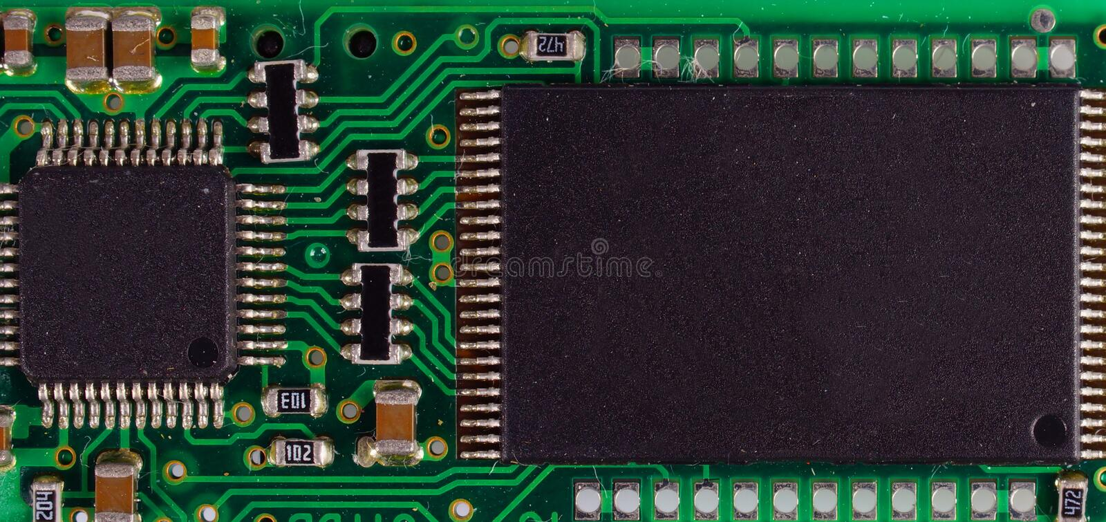 Download Detail of microchip stock photo. Image of dirt, macro - 22594592