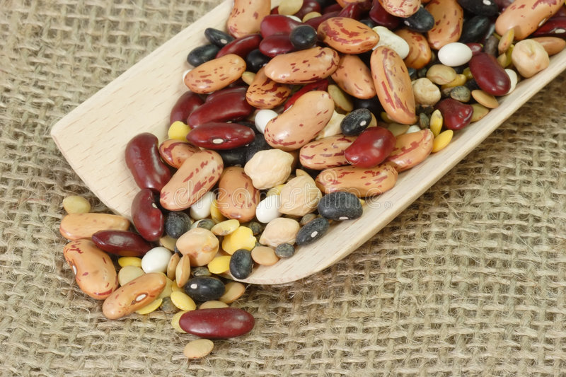 Download Detail From Mixed Dried Beans Stock Photo - Image: 3993522
