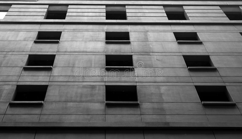 Detail of Modern building. royalty free stock image