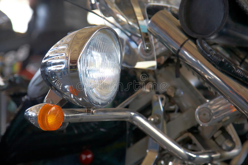 Detail Of Motorcycle Stock Image