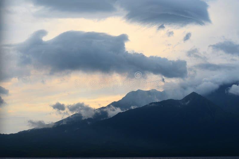 Mount Sangeang, Sumbawa, Indonesia. Detail of Mount Sangeang - vulcano on small island, Sumbawa, Indonesia royalty free stock image