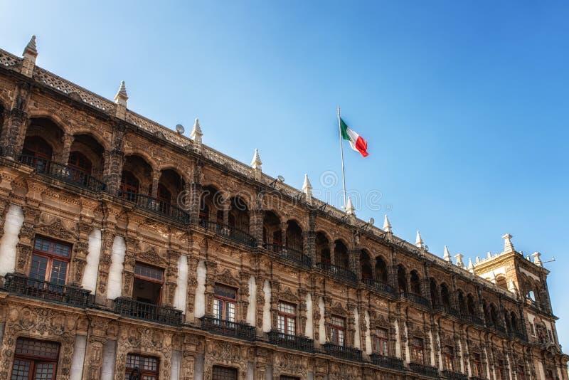 Palacio Nacional National Palace, Mexico City royalty free stock photo