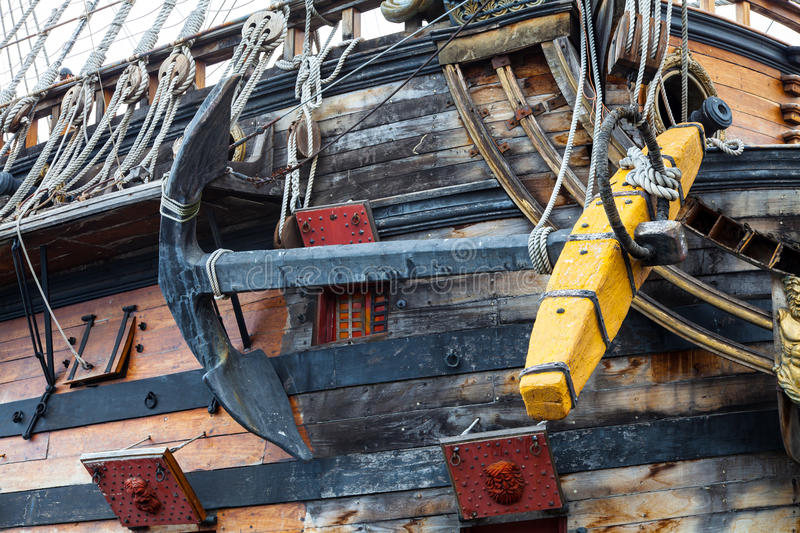Download Detail Of Neptune Galleon, Used By Roman Polansky For The Movie Stock Image - Image: 28739677
