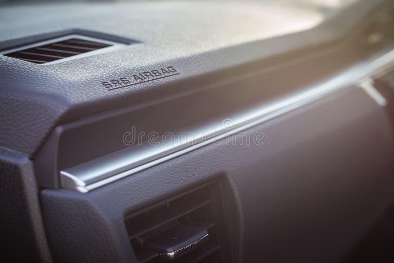 detail of new modern car interior stock photo image 67149400. Black Bedroom Furniture Sets. Home Design Ideas