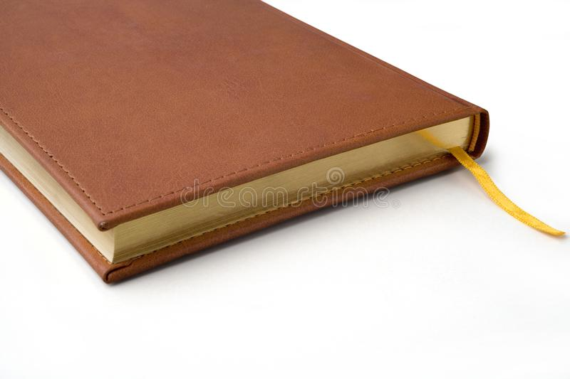 Detail of a notebook stock images