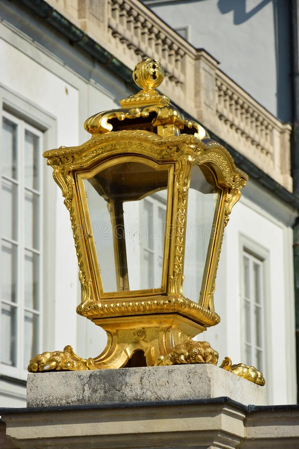 Detail of the NYMPHENBURG castle in Munich, Germany royalty free stock photography