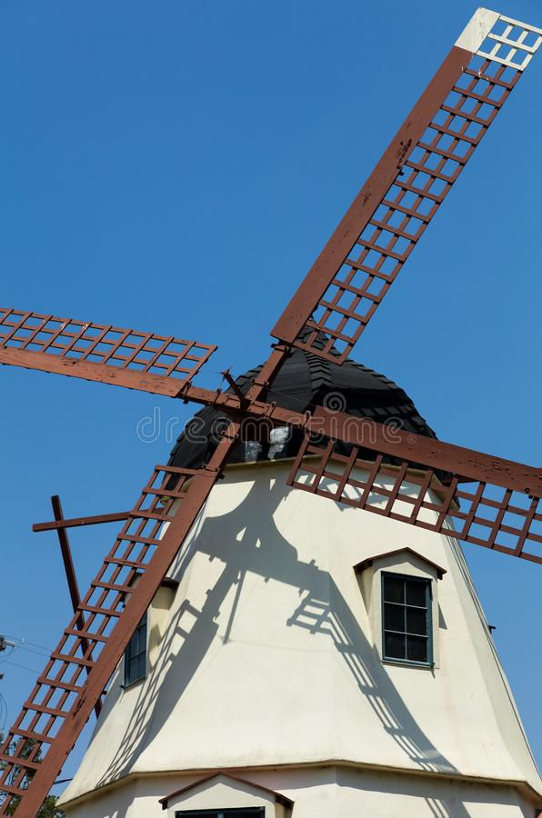Free Detail Of A Large Windmill In Solvang Stock Images - 105564274