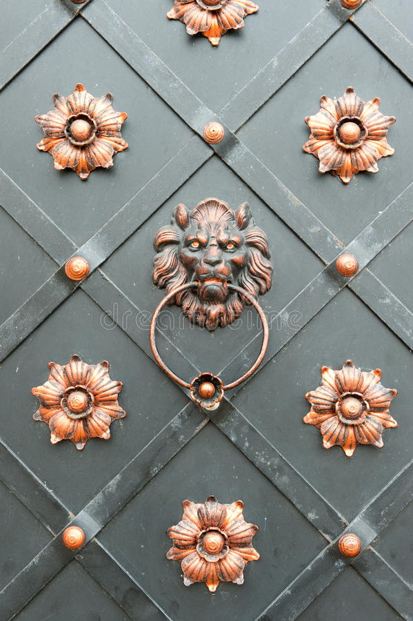 Free Detail Of An Iron Door Stock Photo - 16890090