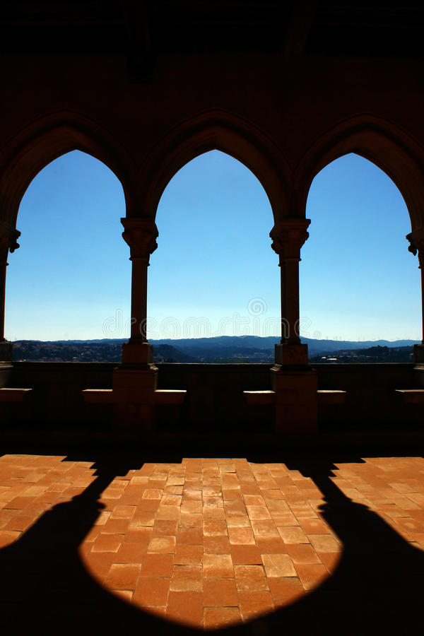 Free Detail Of An Old Balcony With Shadows Royalty Free Stock Photo - 27218815