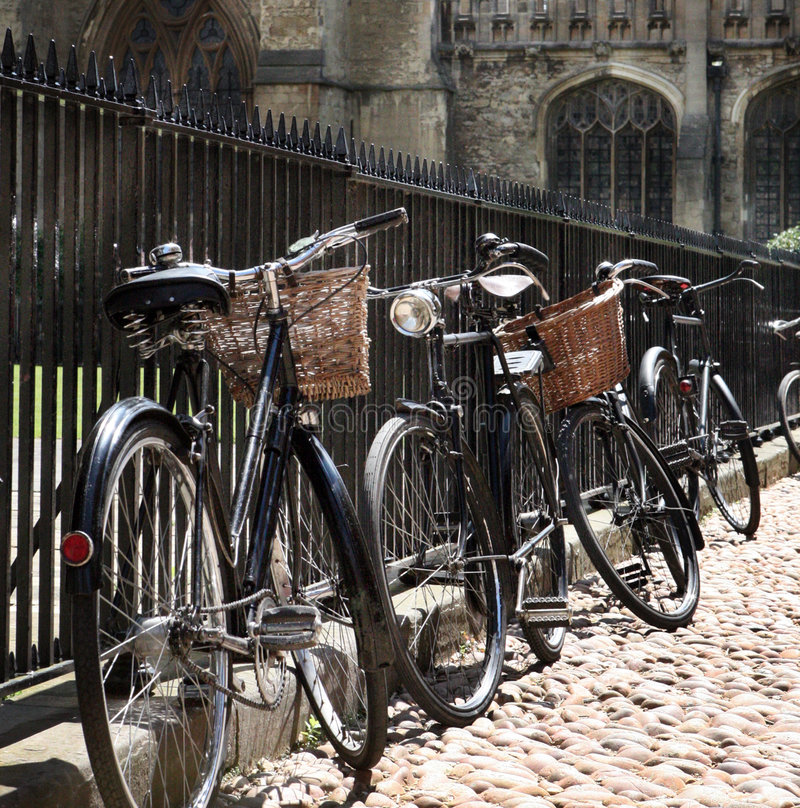 Free Detail Of Bycicles In The Street Stock Photos - 5218053