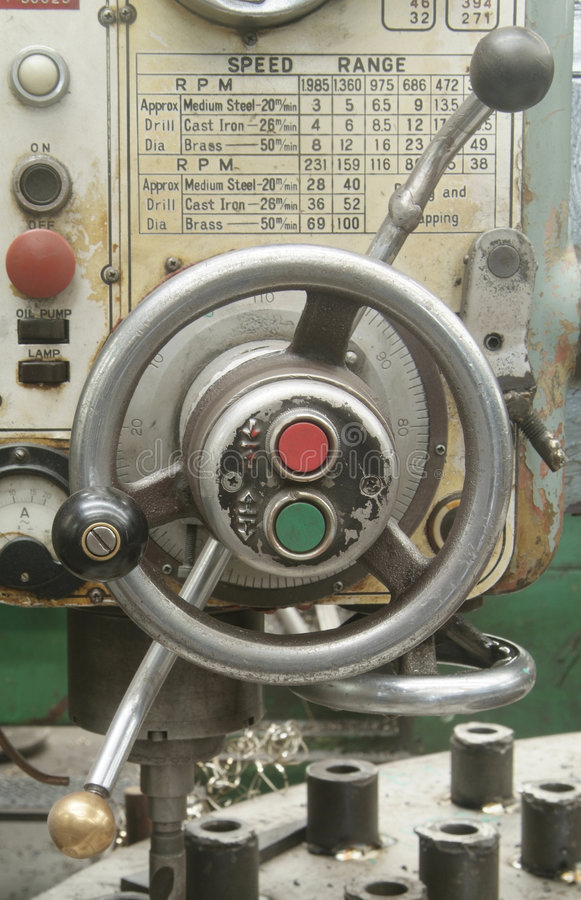 Free Detail Of Drilling Machine Stock Photography - 1518782