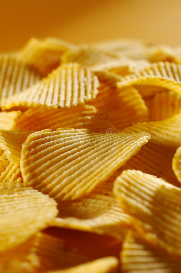 Free Detail Of Fried Potato Chips Royalty Free Stock Images - 7105659