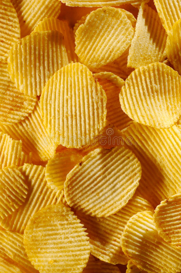 Free Detail Of Fried Potato Chips Royalty Free Stock Images - 7105669