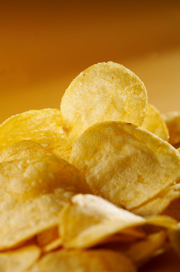 Free Detail Of Fried Potato Chips Royalty Free Stock Images - 7105699