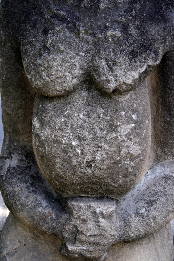 Free Detail Of Of Kurgan Anthropomorphic Stone Stelae Stock Photography - 10520952