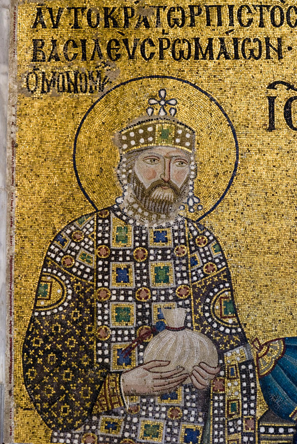Free Detail Of The Emperor Constantine IX. Royalty Free Stock Image - 15672936