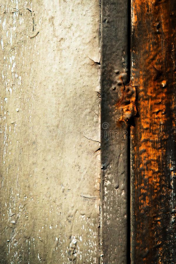 Free Detail Of The Old Gray Rust Gate Royalty Free Stock Photos - 128288308