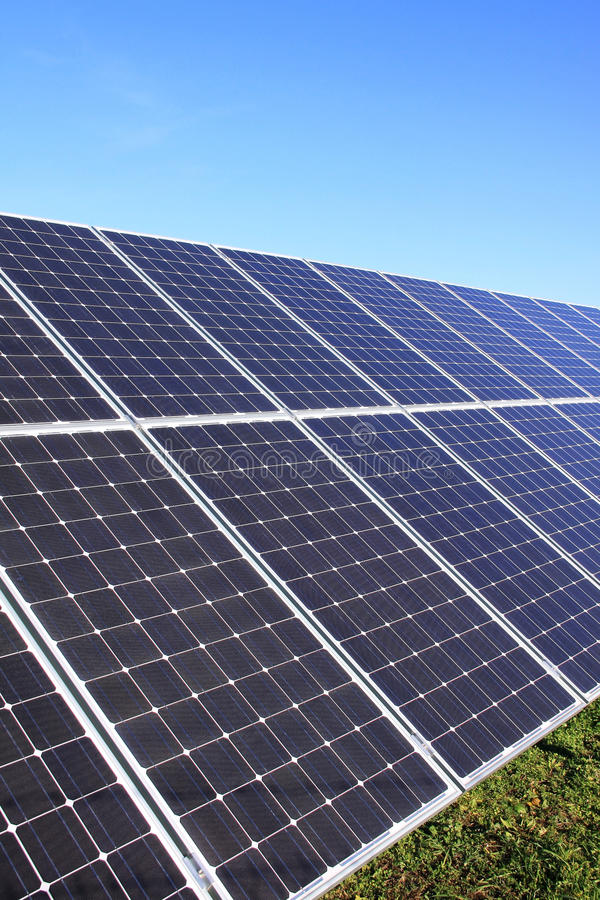Free Detail Of The Solar Power Station Stock Photo - 17071860