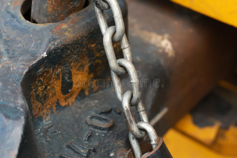Detail of an old rusty metal royalty free stock image