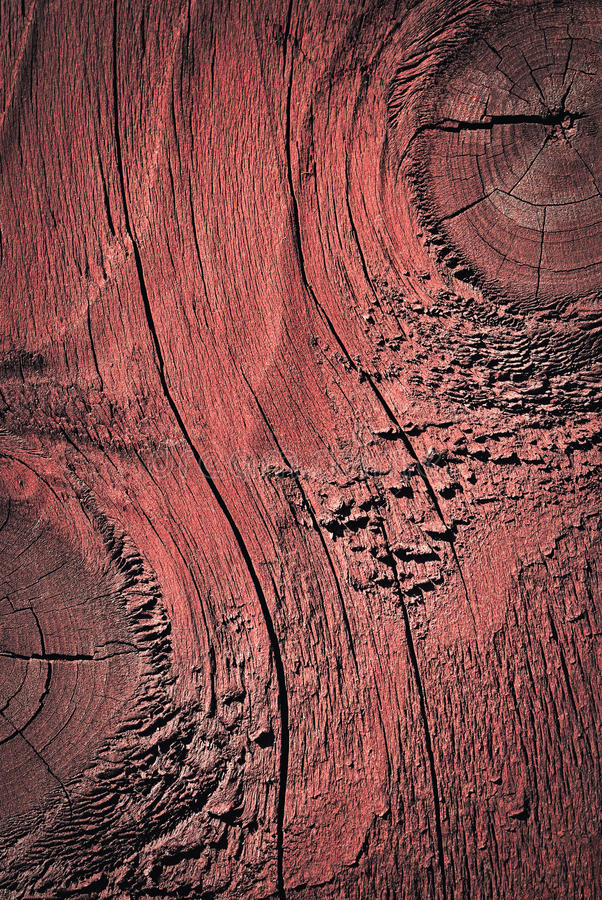 Detail of painted wooden board with bumps royalty free stock photo