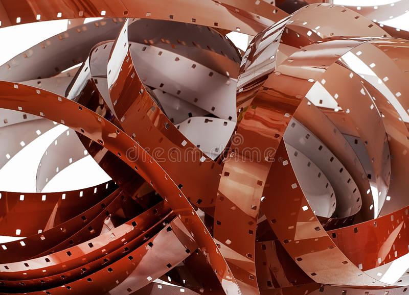 Download Detail Of A Pile Of 16mm Film Stock Image - Image: 48795397