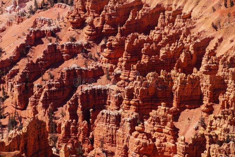 Detail, pinnacles and hoodoos royalty free stock photos