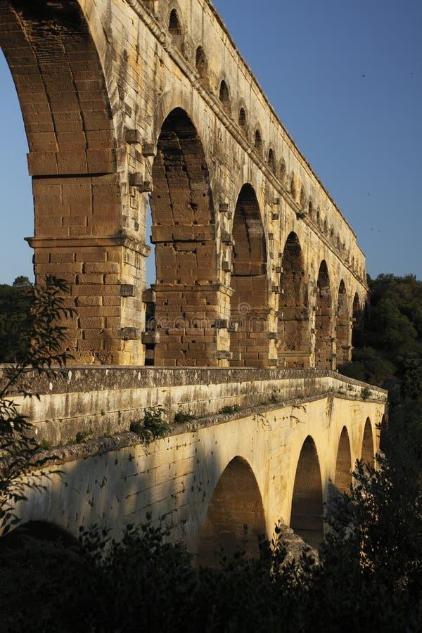 Detail Of Pont Du Gard Royalty Free Stock Image