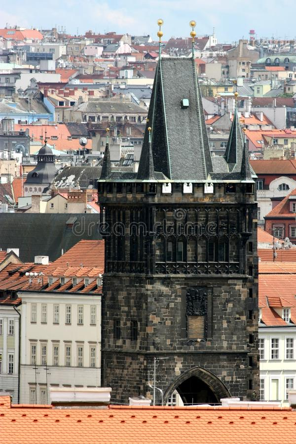 Download Detail Of Powder Tower In Prague Stock Photo - Image: 13666610
