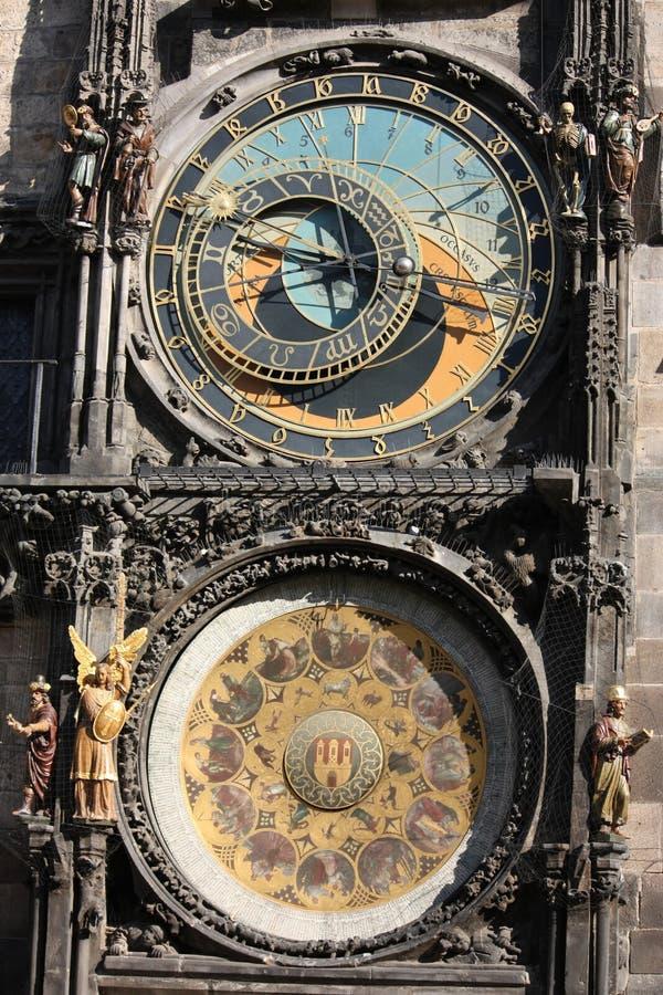 Download Detail Of Prague Astronomical Clock Stock Photo - Image: 13404628