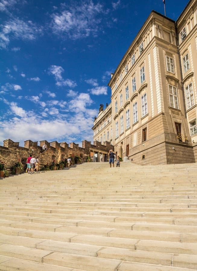 Download Detail Of The Prague Castle Stock Image - Image: 26734299