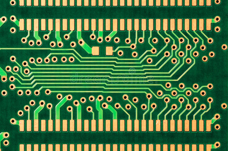 Download Detail Of A Printed Circuit Board Stock Image - Image: 28441045