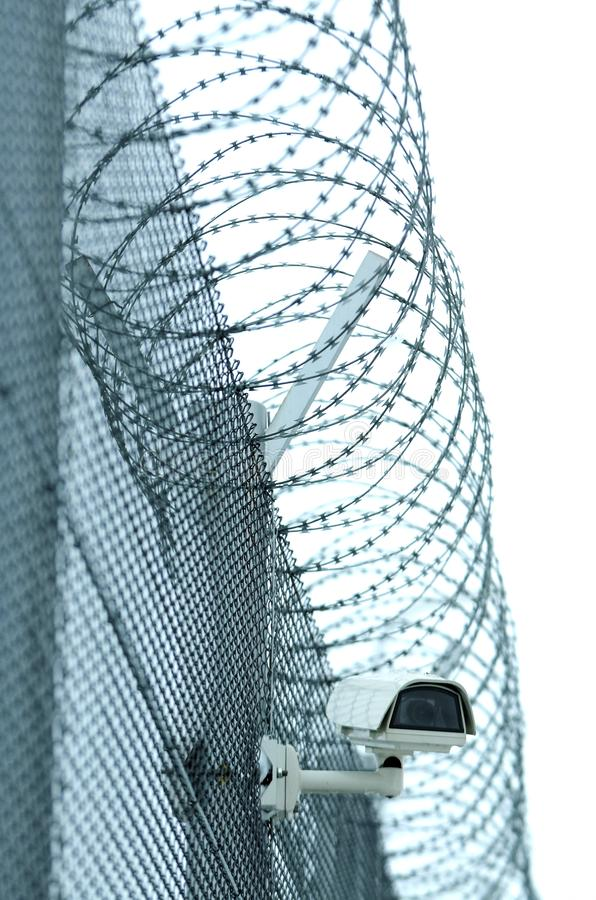 Detail of prison royalty free stock photography