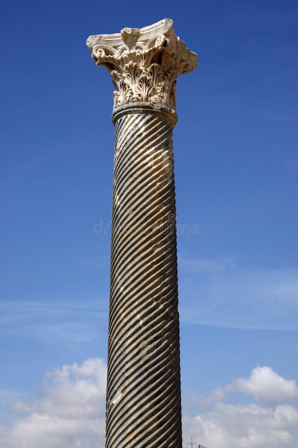 Download Detail of a roman column stock image. Image of european - 7110025