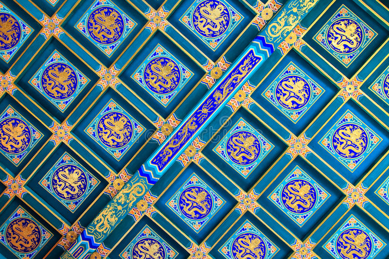 Download Detail Of Roof Paintings Of The Summer Palace Stock Photo - Image: 28411804