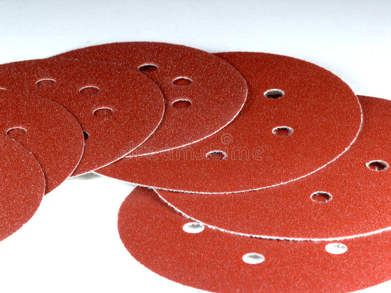 Detail of sand paper. An image of sandpaper - detail stock images