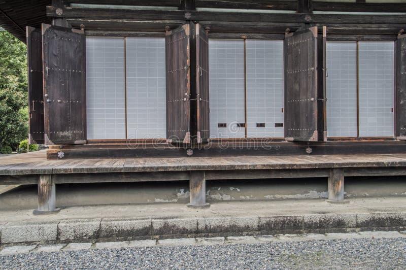 Detail Of The Sanjuusangendoo Temple At Kyoto Japan royalty free stock photos