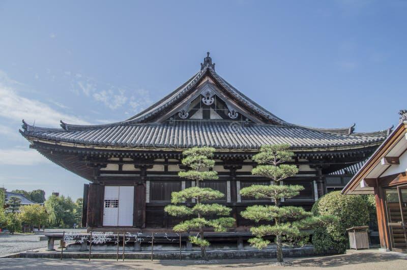 Detail Of The Sanjuusangendoo Temple At Kyoto Japan. 2015 royalty free stock photo