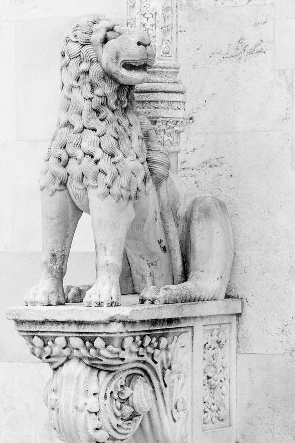 Detail of Sibenik cathedral royalty free stock images