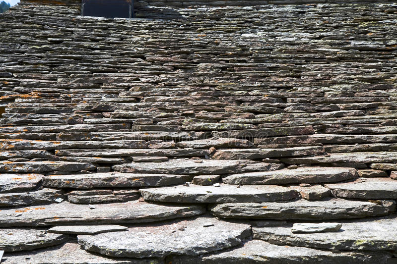 Schist House Detail Stock Photo Image Of Color Hard
