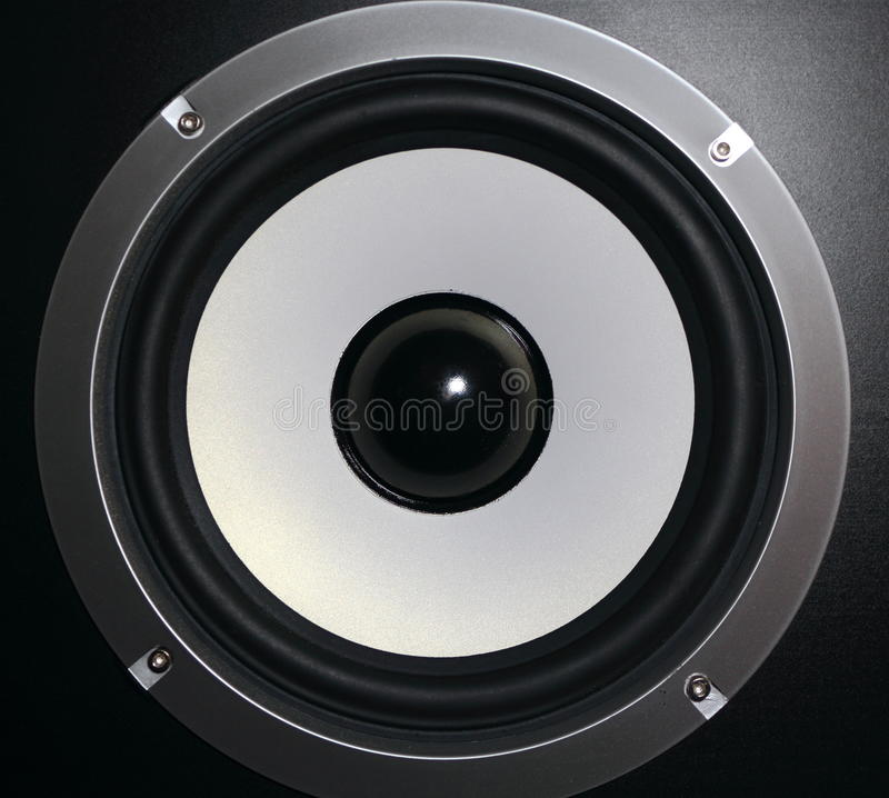 Download Detail of a speaker stock image. Image of musical, audio - 25127575