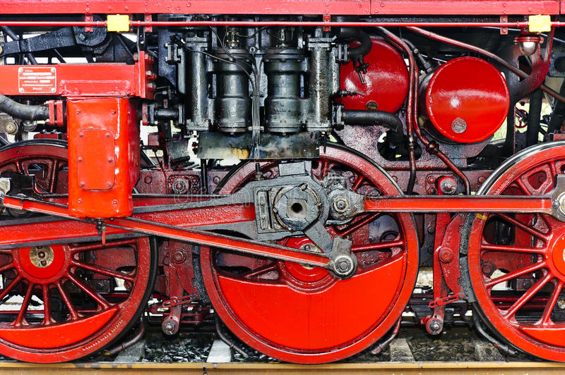 Download Detail Of A Steam Locomotive Stock Image - Image: 18866355